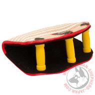 大型犬向けのフレンチリネン製おもちゃ(11x23cm)