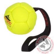 シェパード子犬 サッカーボール ハンドル付き 8cm